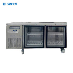 Sanden – 2 Glass Doors – Under Counter Chiller - SCR3-1206CR