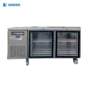 Sanden – 2 Glass Doors – Under Counter Chiller - SCR3-1506CR