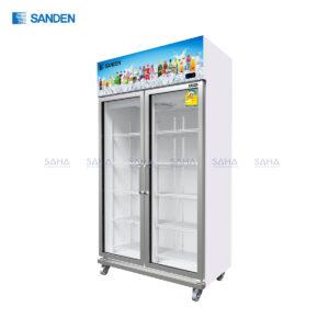 Sanden - 2 Doors - Beverage Cooler - SEA-0905