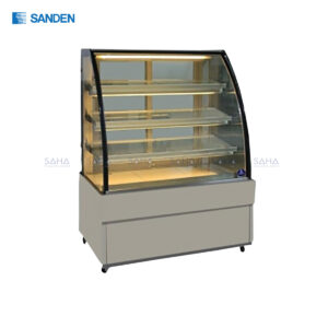 Sanden – Cake Showcase – Curved Glass 3 Shelfs - SKK-0707Z