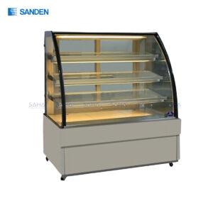 Sanden – Cake Showcase – Curved Glass 3 Shelfs - SKK-0907Z