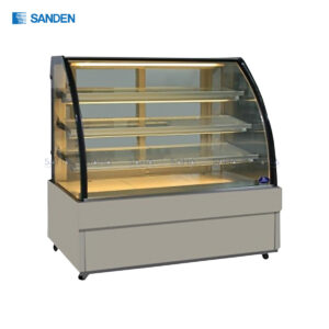 Sanden - Cake Showcase – Curved Glass 3 Shelfs - SKK-1207Z