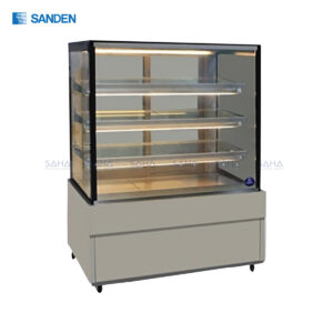 Sanden - Cake Showcase – Flat Glass 3 Shelfs - SKS-0907Z