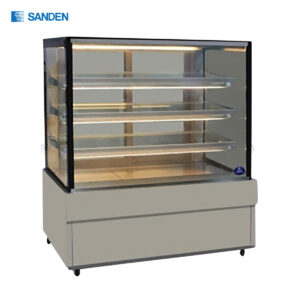 Sanden - Cake Showcase – Flat Glass 3 Shelfs - SKS-1207Z