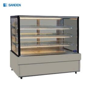 Sanden - Cake Showcase – Flat Glass 3 Shelfs - SKS-1507Z