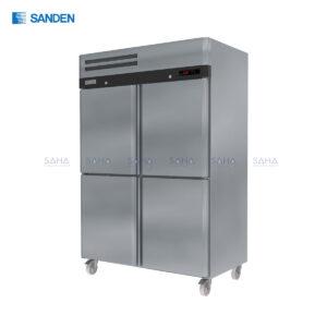 Sanden – 4 Doors - Upright freezer - SRF3-1327-AS