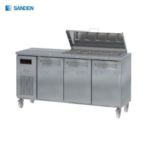 Sanden – 2 Doors - Under Counter - Salad Preparation – Chiller - SSC3-1807-AR