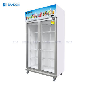 Sanden – 2 Doors – Display Cooler - YEM-1105