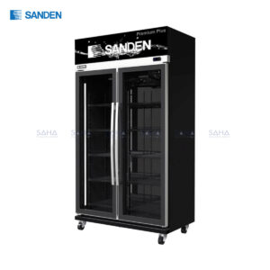 Sanden – 2 Doors – Display Cooler - YEM-1105 Premium Plus