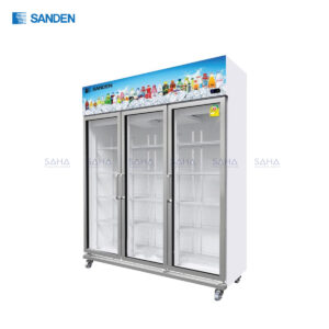 Sanden – 3 Doors - Display Cooler - YEM-1605