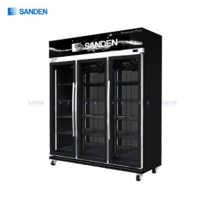 Sanden – 3 Doors - Display Cooler - YEM-1605 Premium Plus