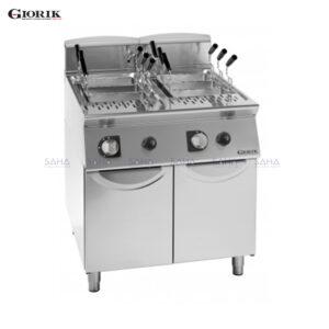 Giorik - Unika700 - 26 + 26 Litre Twin Tank Gas Pasta Cooker – CPG-746