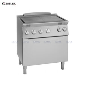 Giorik - Unika700 - Electric Solid Top Hob On Electric Oven - TE-740E