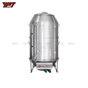 """YPT - Flame-Mate 2.0 - Full Height Pig Duck Roaster - 39"""" Double Layer - CDR-10S"""