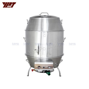"YPT - Flame-Mate 2.0 - Duck Roaster - 32"" Double Layer - CDR-8D"