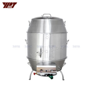 "YPT - Flame-Mate 2.0 - Duck Roaster - 36"" Double Layer - CDR-9D"