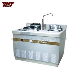 YPT - Flame-Mate 2.0 - 2 Ring Burner - Shanghai Style - ECR-1-PF(E)5