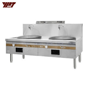 YPT - Flame-Mate 2.0 – 2 Ring Burner - Large Wok Range - ECR-2-BF(E)5