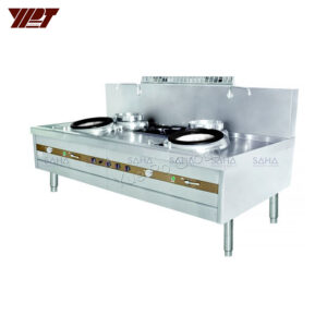 YPT - Flame-Mate 2.0 – 2 Ring Burner - Chiu Chow Style – ECR-2-CF(E)5