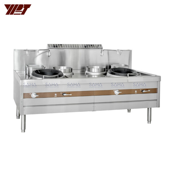 YPT - Flame-Mate 2.0 - 2 Ring Burner - Guangdong Style - ECR-2-GF(E)5