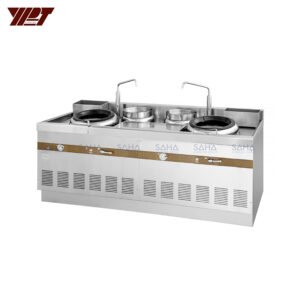 YPT - Flame-Mate 2.0 - 2 Ring Burner - Guangdong Style - ECR-2-LF(E)5