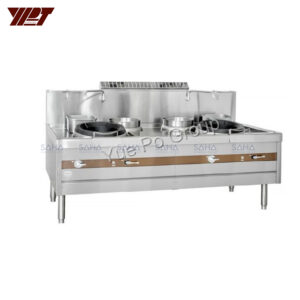 YPT - Flame-Mate 2.0 - 2 Ring Burner - Banquet Style - ECR-2-MF(E)5