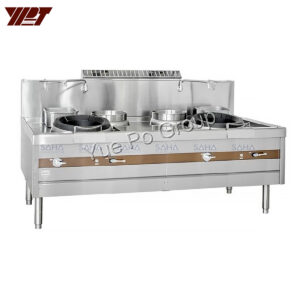 YPT - Flame-Mate 2.0 - 2 Ring Burner - Guangdong Compact Style - ECR-2-NF(E)5