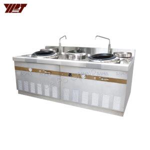 YPT - Flame-Mate 2.0 - 2 Ring Burner - Shanghai Style - ECR-2-PF(E)5