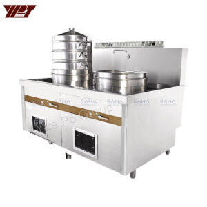 YPT - Flame-Mate 2.0 - Double Unit - Kettle Type Steamer - EKS-2E