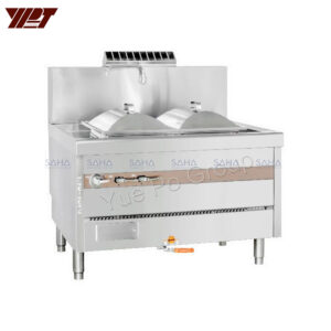 YPT - Flame-Mate 2.0 - Double Unit - Rice Roll Steamer - ERS-2C