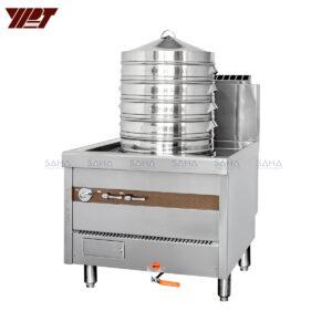 YPT - Flame-Mate 2.0 - Single Unit - Dim Sum Steamer - ECS-1C
