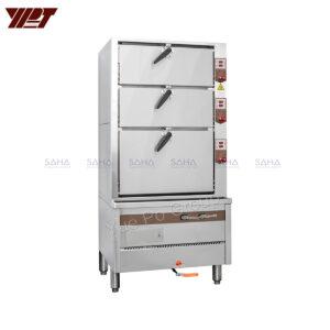 YPT - Flame-Mate 2.0 - Triple Door - Environmental Steamer Cabinet - ESC-3HC