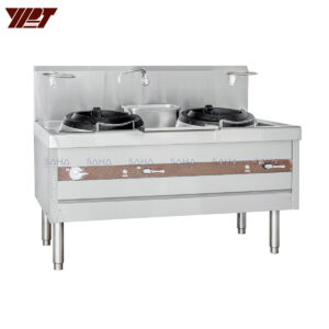 YPT - Flame-Mate 2.0 - 2 Rings Burner - Chop Suey Style - ESR-2-HF(E)