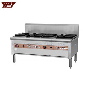 YPT - Flame-Mate 2.0 - 2 Ring Burner - Double Head - SPS-2-14F(S)
