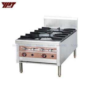 YPT - Flame-Mate 2.0 - 2 Ring Burner - Vertical Double Head - SPS-2-14V(S)