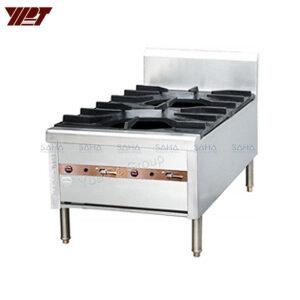 YPT - Flame-Mate 2.0 - 1 Ring Burner - Vertical Double Head - SPS-2-8V(S)