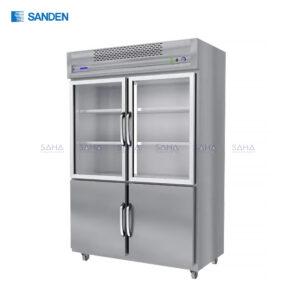 Sanden - Stainless Refrigerator - RIS-130S