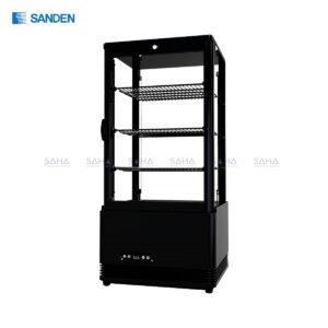 Sanden - 4 Side Glass - Cooler - SAG-0783(Black)