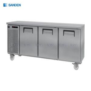 Sanden – 3 Doors - Under Counter Chiller - SCR2-1807-AR
