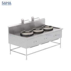 SAHA -3-Burner Chinese Range - SHRG331